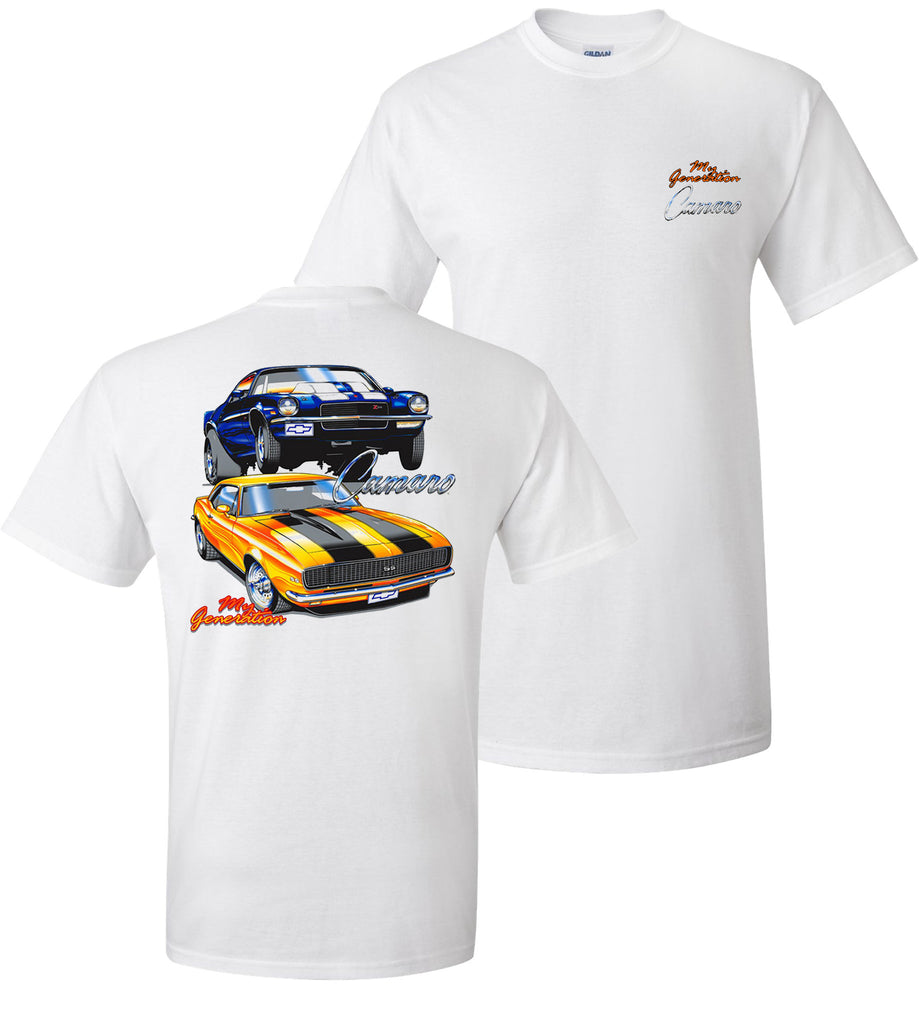My Generation Camaro (1st and 2nd gen) shirt - Car Shirts Guy
