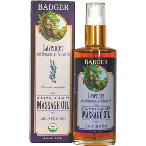 Aromatherapy Massage Oil - Lavender