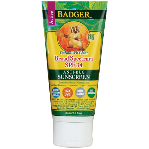 SPF 34 Anti-Bug Sunscreen