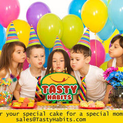 Cakes for a Birthday * Delivery Available in Sherwood Park, Edmonton, and Surrounding Areas *