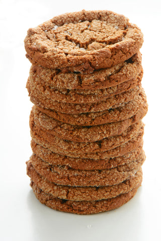 Cookies 12 Pcs Ginger - Cookies - Tasty Habits Bakery