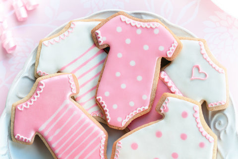 Sugar Cookies Baby Theme Design 1 - Cookies - Tasty Habits Bakery