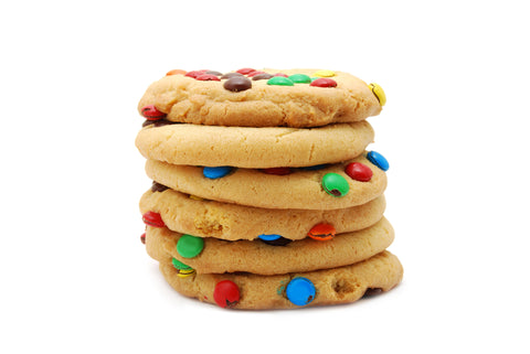 Cookies 12 Pcs M&Ms - Cookies - Tasty Habits Bakery