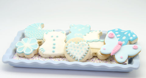 Sugar Cookies Baby Theme Design 2 - Cookies - Tasty Habits Bakery