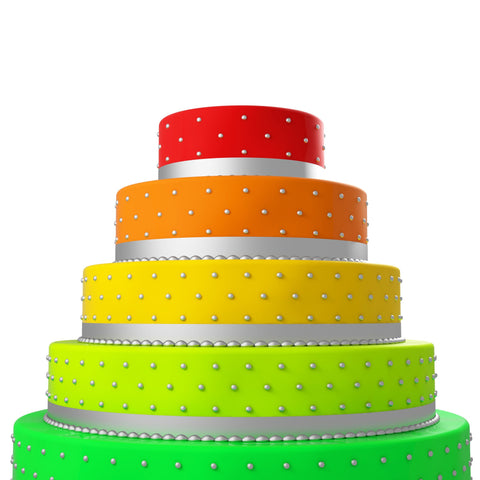 Colorful Cake - Cakes - Tasty Habits Bakery