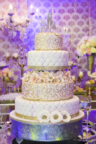 Style Decoration Cake Multi-Tiers - Cakes - Tasty Habits Bakery