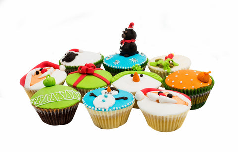 Mini Cupcakes With Edible Toppers - Cupcakes - Tasty Habits Bakery