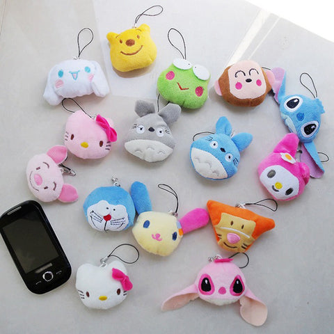 Smiley Animals Anti Stress Reliever / Key Chain - Promo Gift Items - Tasty Habits