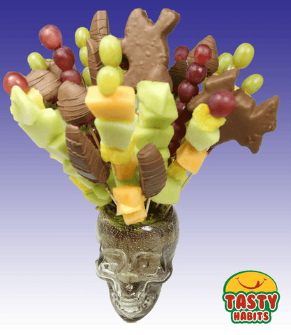 Fruit Basket: Halloween Skull - Tasty Habits