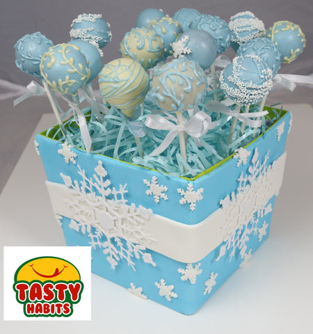 Cake Pops 12 Decorated Pieces - Tasty Habits  - 1