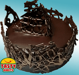 Choco Art Cake - Tasty Habits  - 1
