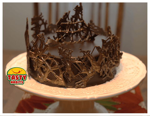 Choco Art Cake - Tasty Habits  - 2