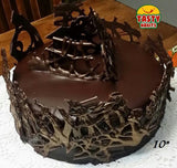 Choco Art Cake - Tasty Habits  - 5