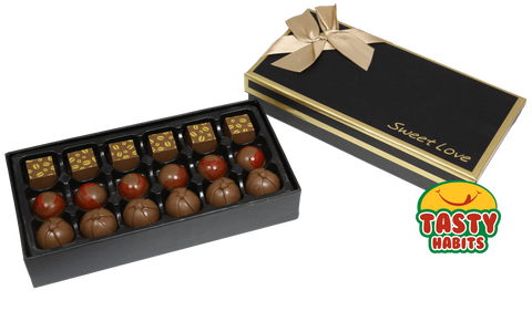 MonaMori Chocolate Truffle Sweet Love Boxes - Tasty Habits