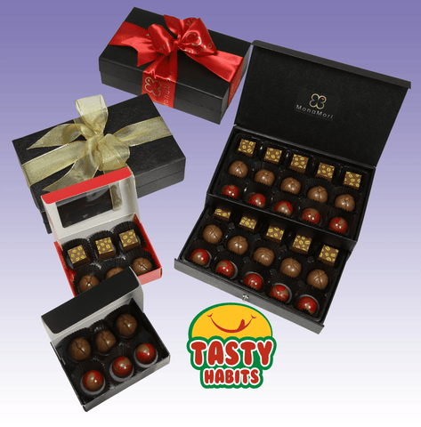 MonaMori Chocolate Truffle Gift Boxes - Tasty Habits