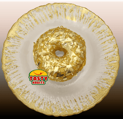 Fancy Custom 24k Gold Donut - Tasty Habits  - 1