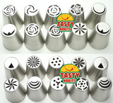 Icing Decoration Flowers Piping Nozzles (Tips) - Kitchenware - Tasty Habits Ltd