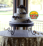 3 Tiers with Frosted Fruits Decoration - Tasty Habits  - 5
