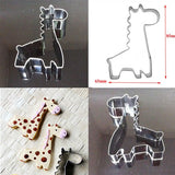 Giraffe Shape Mould Biscuit Cutter - kitchenWare - Tasty Habits
