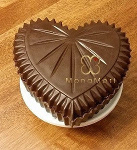 Edible Chocolate Heart Box - Tasty Habits  - 1