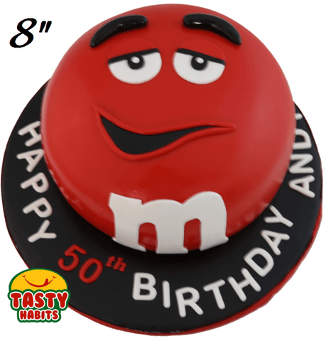 M&Ms Themed Cake - Tasty Habits  - 4