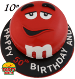M&Ms Themed Cake - Tasty Habits  - 5