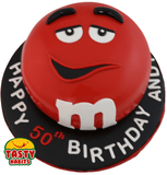 M&Ms Themed Cake - Tasty Habits  - 2