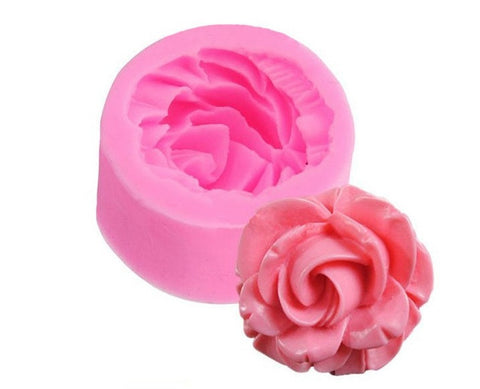 Rose Flower Silicone Mold - Kitchenware - Tasty Habits