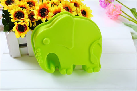 Elephant Shape Muffin Candy Fondant Silicone Mold - Kitchenware - Tasty Habits