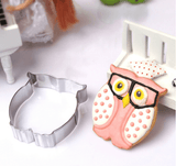 Stainless Steel Cookie Cutter Cake Baking Mould Biscuit DIY Owl Mould - kitchenWare - Tasty Habits