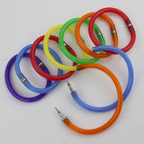 5 PCS Flexible Cute Soft Plastic Bangle Bracelet Ballpoint Pens - Promo Gift Items - Tasty Habits
