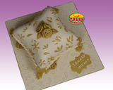 Custom Design Cakes Roses on a Pillow - Tasty Habits  - 2