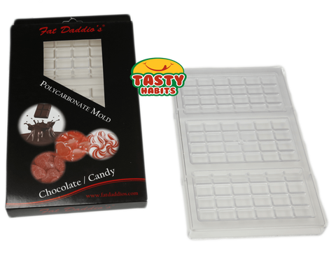 Poly-carbonate Chocolate Bar and Candy Mold - Kitchenware - Tasty Habits