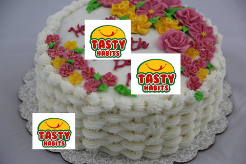 Custom Design Cakes Rose Garden - Tasty Habits