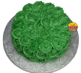 Rosette Cake Covered in Icing. - Tasty Habits  - 3