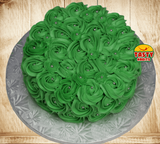 Rosette Cake Covered in Icing. - Tasty Habits  - 2