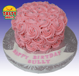 Rosette Cake Covered in Icing. - Tasty Habits  - 4