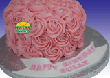 Rosette Cake Covered in Icing. - Tasty Habits  - 6
