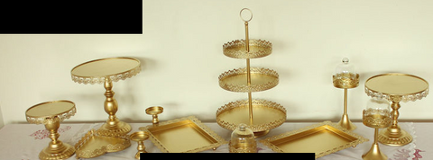 Cupcake and Cake Stand Display - Party Supplies - Tasty Habits