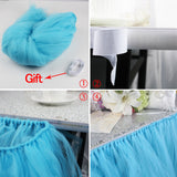 Tulle Table Skirt 100*80 CM - Party Supplies - Tasty Habits