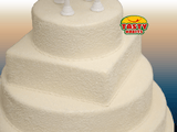 5 Tiers With Sugar Decoration - Tasty Habits  - 6