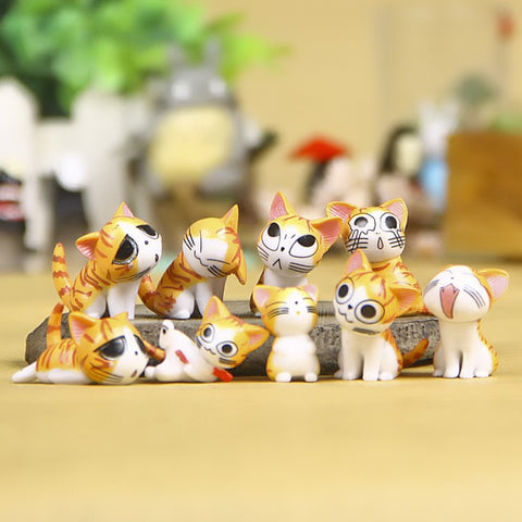 Cute PVC Cats - Promo Gift Items - Tasty Habits