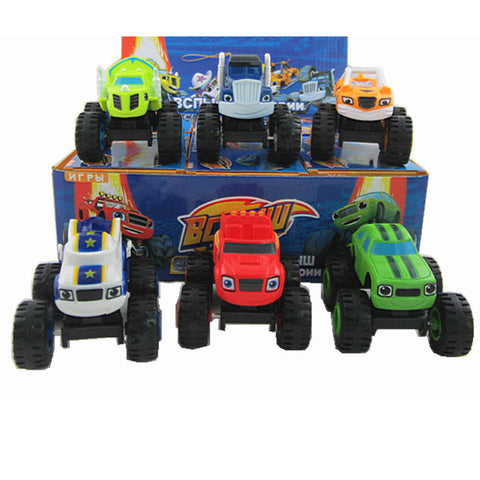 Monster Machines Car Toys - Promo Gift Items - Tasty Habits