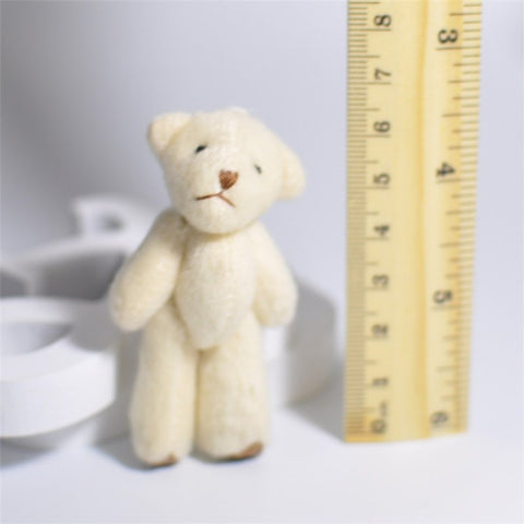 3Pcs/Set Teddy Bear Mini Dolls - Promo Gift Items - Tasty Habits