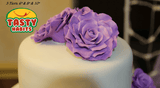 Custom Design Cakes Roses 2, 3 or 4 Tiers Cake - Tasty Habits  - 7