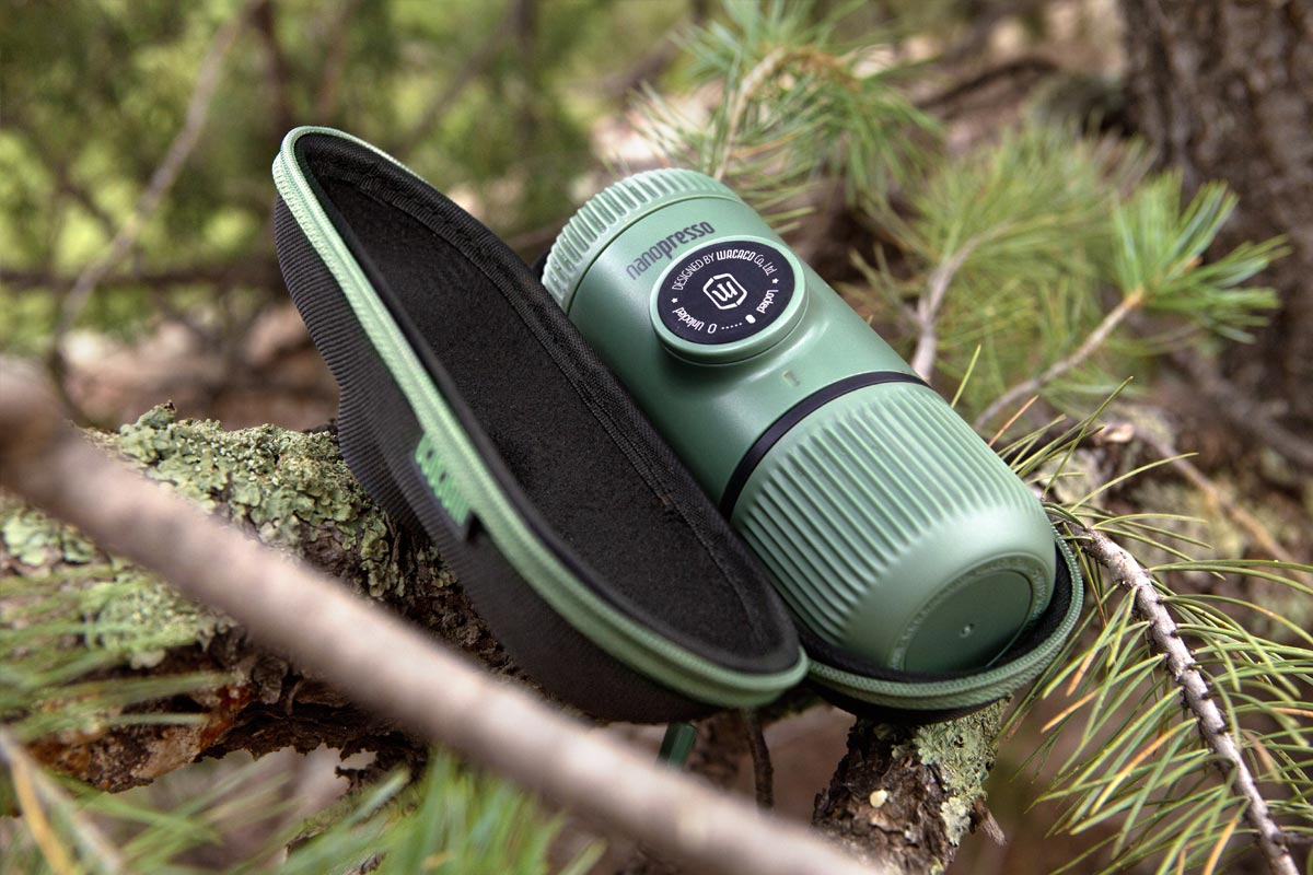 NANOPRESSO ELEMENTS MOSS GREEN (HK) - Wacaco