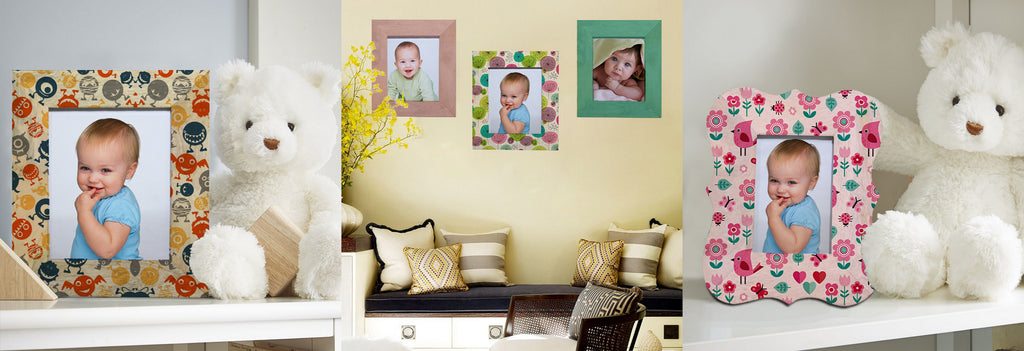 Photo-frames for your kids room decor