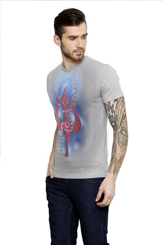 Hand-painted Virtue of Trident T-shirt