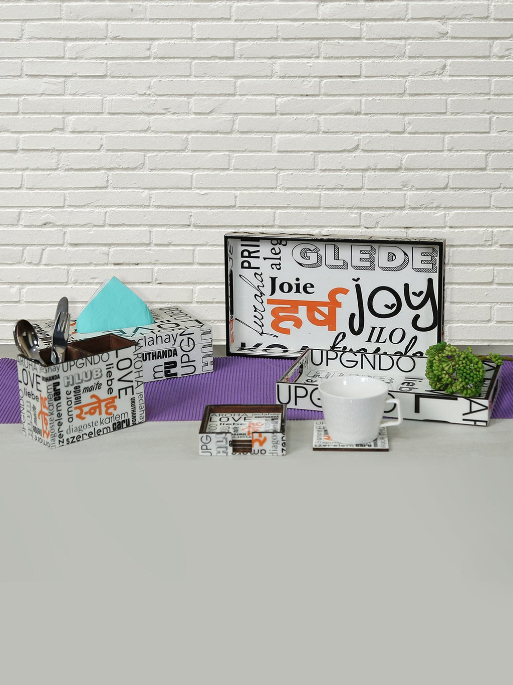 Global Village Table Décor Combo (Set of 9)