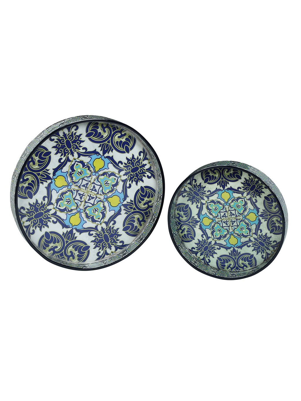 Handcrafted Persian Delight Trays (Set of 2)